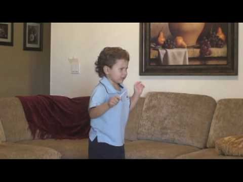 3 year old Jonathan conducting to Brahms Symphony No 1