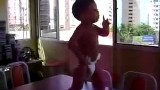 Dancing Baby Doing The Samba In Brazil
