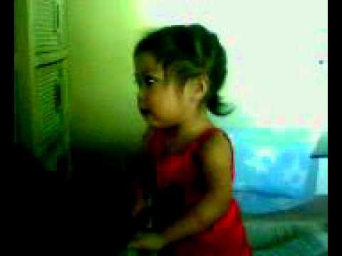 The no Lyrics Song by Iyah & Practicing with mommy