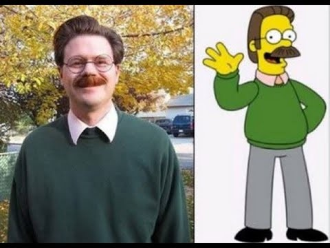 Top 18 Celebrities and Ordinary People Who Look Exactly like Cartoon Characters