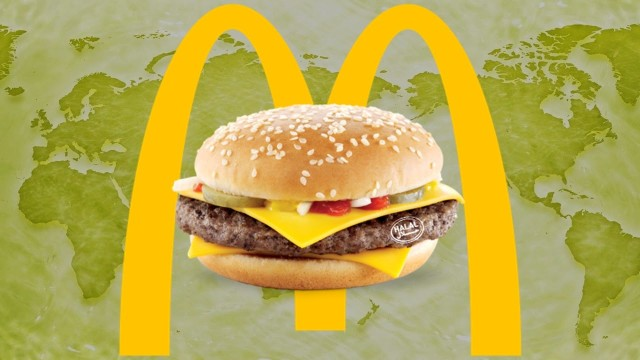 Top 20 McDonald Foods Around the World