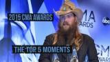 Top 5 2015 CMA Awards Moments