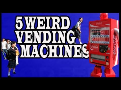 Top 5 Unbelievable Things You Can Get from Vending Machines Around the World