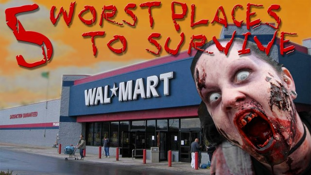 Top 5 Worst Places to Hide in a Zombie Apocalypse
